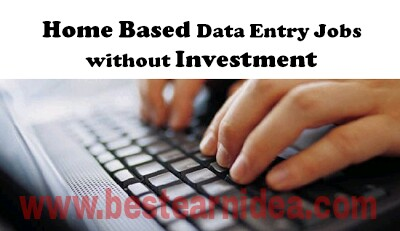 Free home based data entry jobs without investment  :: namagoora ml