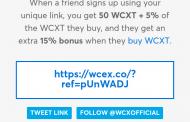 ভবিষ্যৎ ডাকছে তোমায়, Upcoming crypto currency WCXT । ফ্রি তে 5$ এবং বিশ্বের সকল crypto currency নিয়ে আজকের পোষ্ট ।