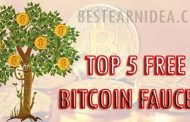 TOP 5 FREE BITCOIN Faucets Site