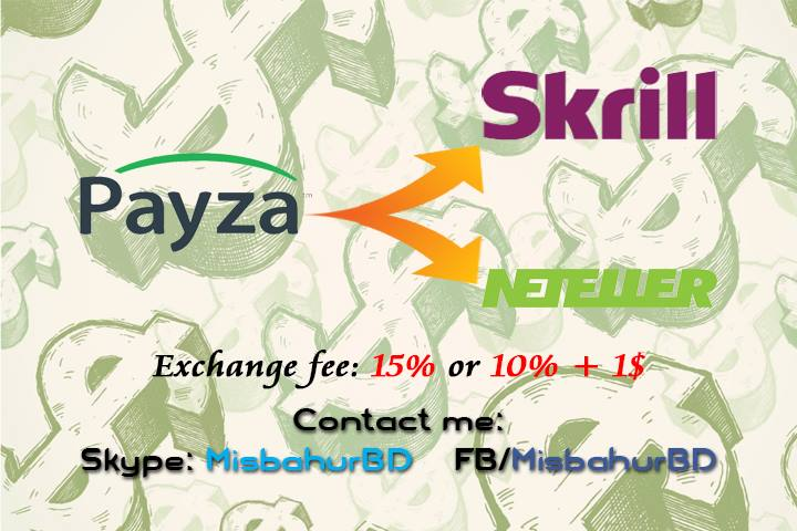 Payza Exchange Instant