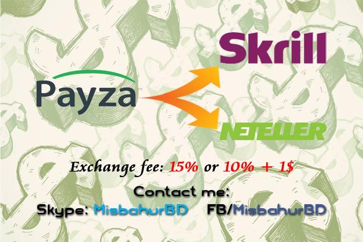 Payza Exchange Instant