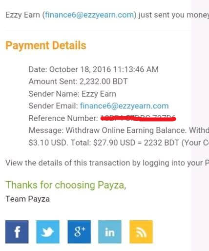 ezzy-earn-payment-proved