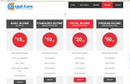 Legal Earn এর Android App  এবার কাজ করুন আর টাকা ইনকাম করুন প্রতিদিন 1$ থেকে 3$ Minimam Payment 1$ by Bkas.