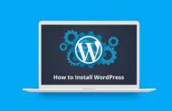 Wordpress ইনস্টল