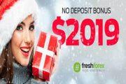 $2019 নো ডিপোজিট বোনাস অফার – FreshForex