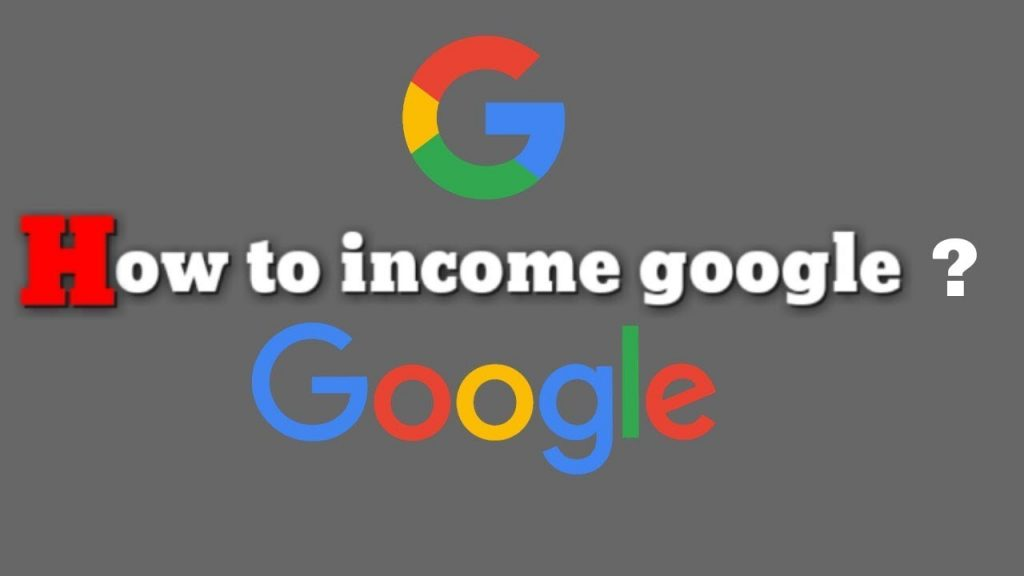How Google Makes Income